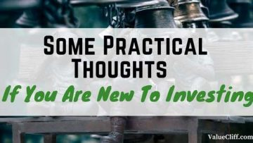 Practical thoughts for New Investors |Principles and philosophies